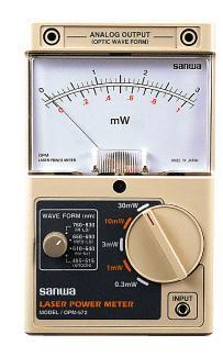 analog sanwa laser power meter