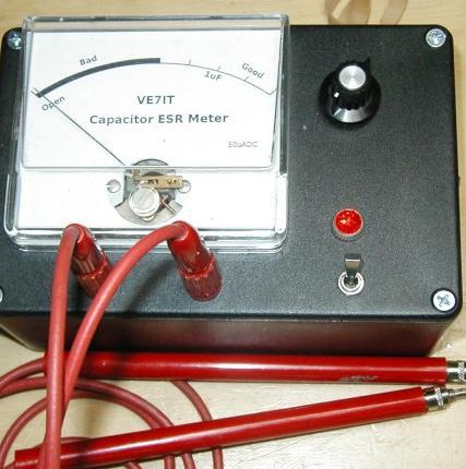 Homemade Esr Meter Electronics Repair And Technology News