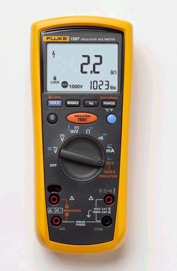 fluke 1587 insulation multimeters