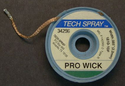 what is solder wick