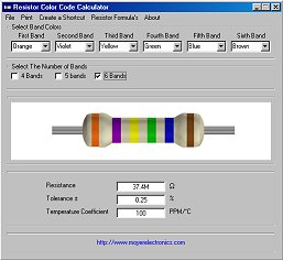 Resistor Calculator  Electronics Repair And Technology News