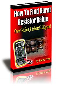 burnt resistor