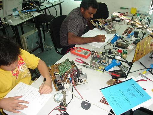 basic electronic course