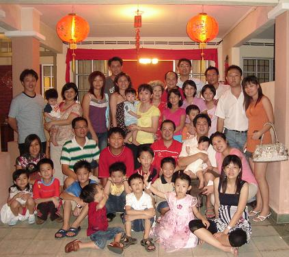 chinese new year reunion