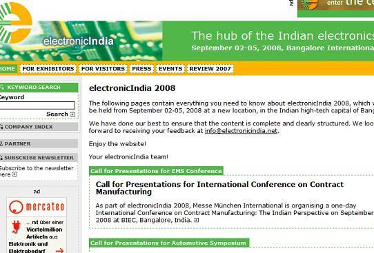 electronic india