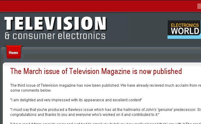 television magazine uk