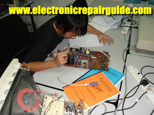 monitor repairing course