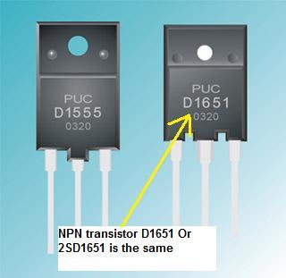 transistor d1651