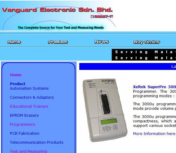 vanguard electronic