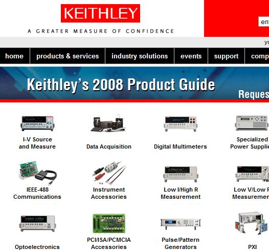 keithley test instrument