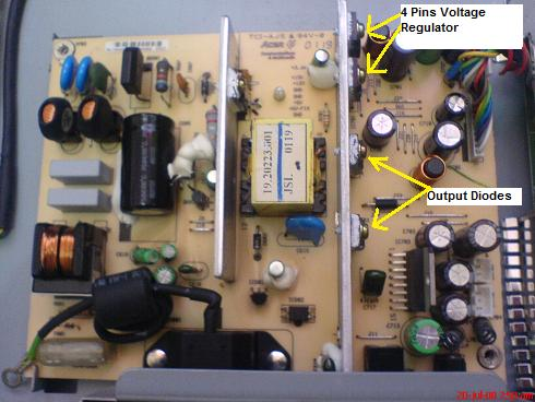 Acer 15″ FP450 LCD Monitor Power Supply Problem | Electronics Repair ...