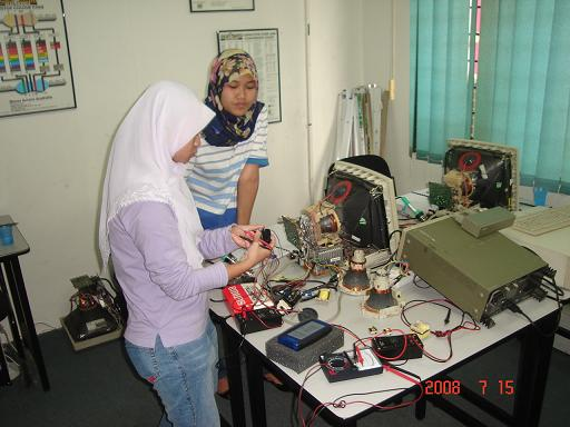 monitor repair course