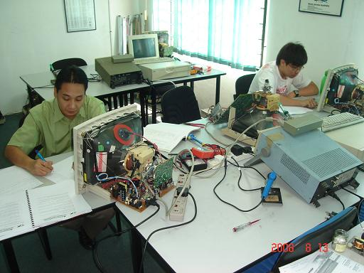 monitor repairing course