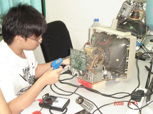 lcd monitor repairing course