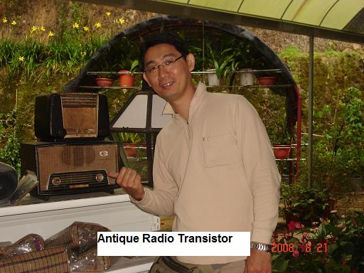 antique radio transistor