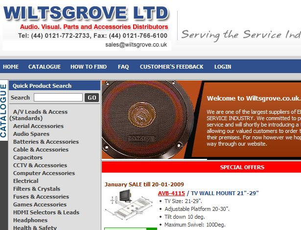 wiltsgroove electronic supplier