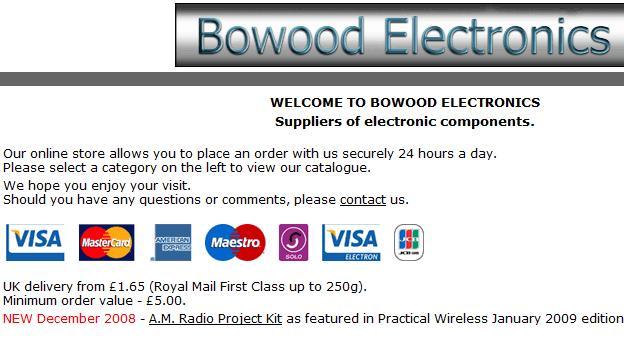 bowood electronics