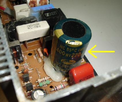 capacitor discharge