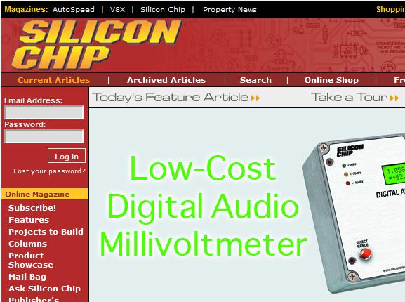 silicon chip magazine
