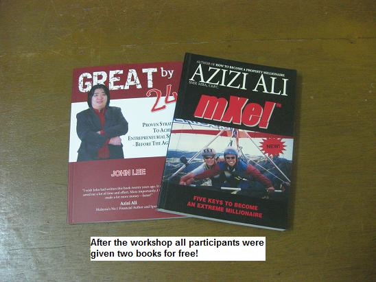azizi ali extreme book