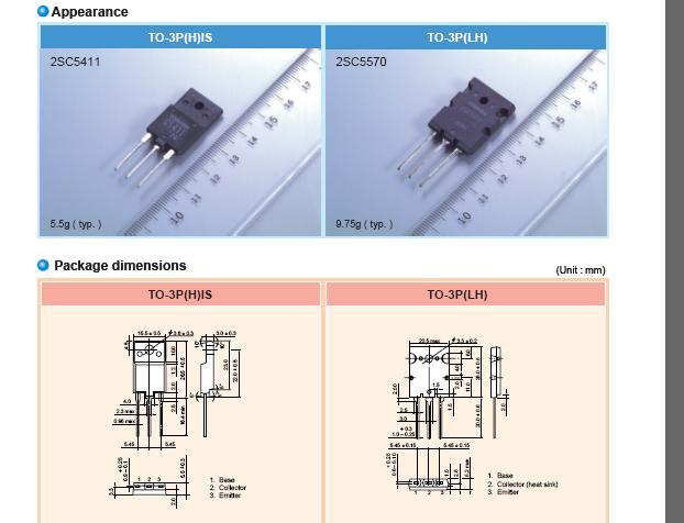 horizontal output transistor