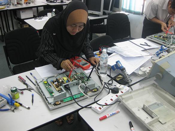 lcd repair course