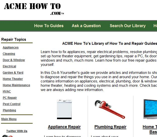 acme how to