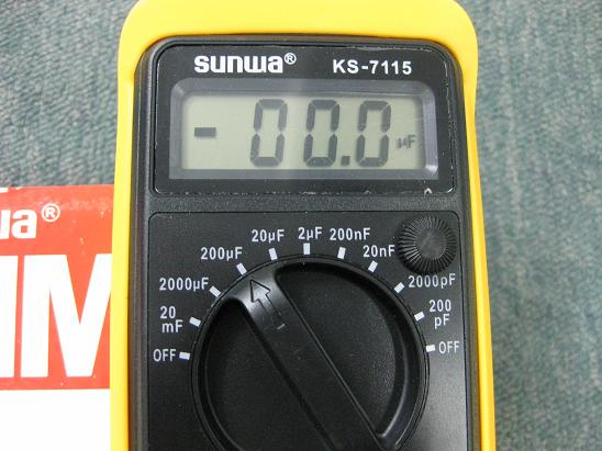 sunwa capacitor tester