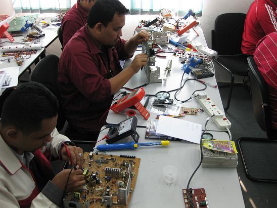 testing electronics components