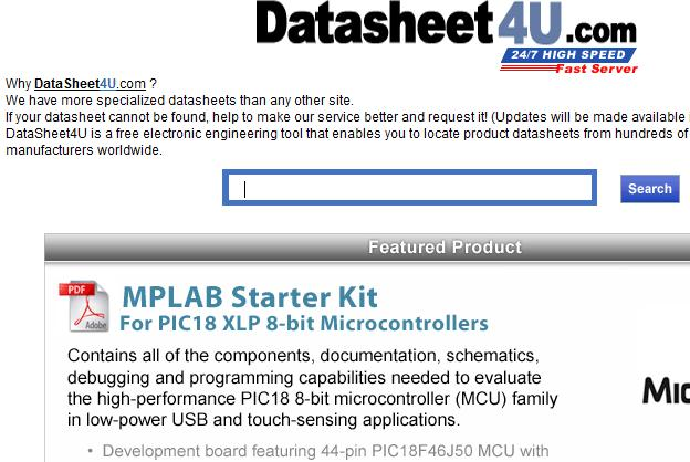 datsheet website