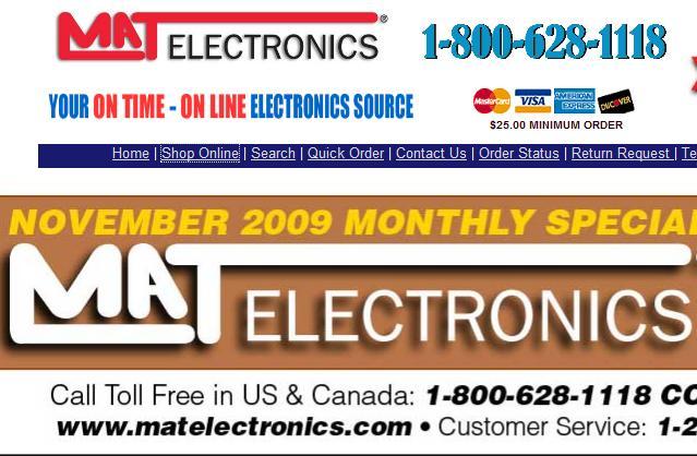 mat electronics