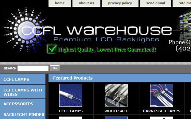 ccfl backlight lamp