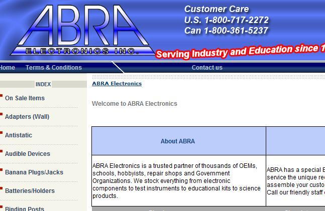 abra electronics