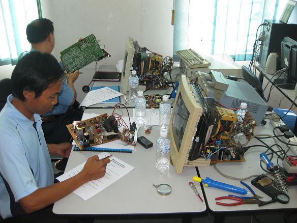 monitor repairing