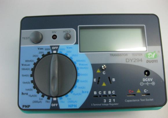 duoyi digital transistor tester dy294