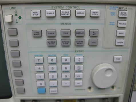 hp 54503a 500mhz scope