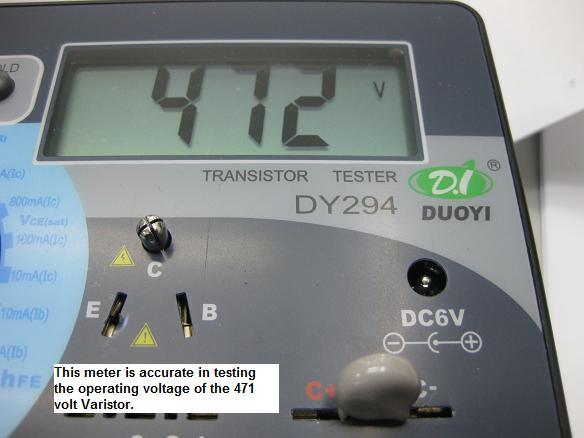 digital transistor tester dy294