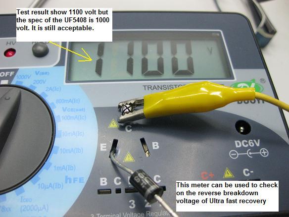 reverse breakdown voltage