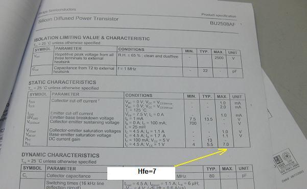 testing transistor hfe