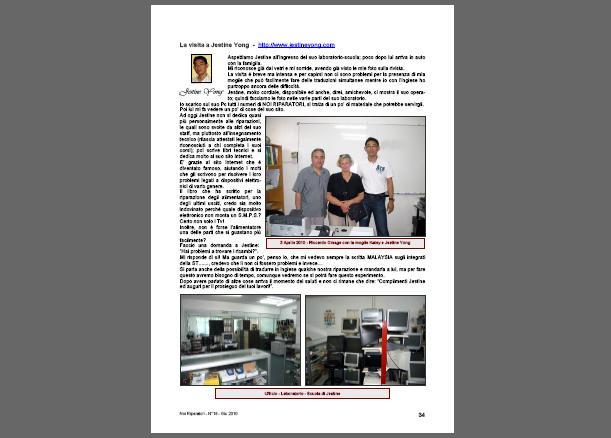 italian repair magazine