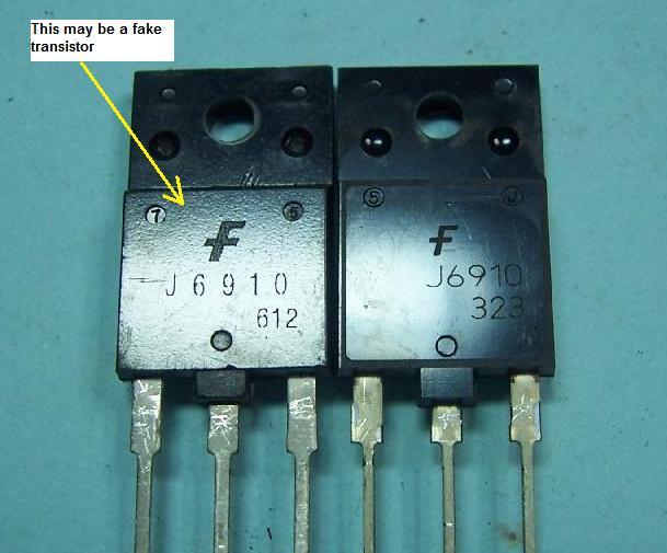 fake transistor