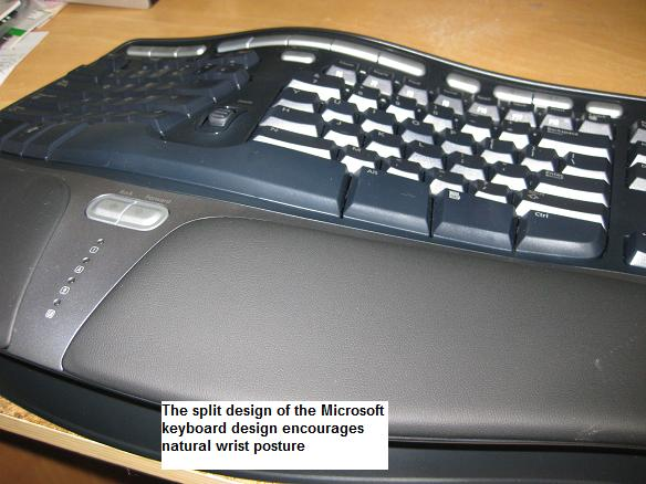 microsoft ergonomic keyboard 4000 manual