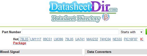 datasheet directory