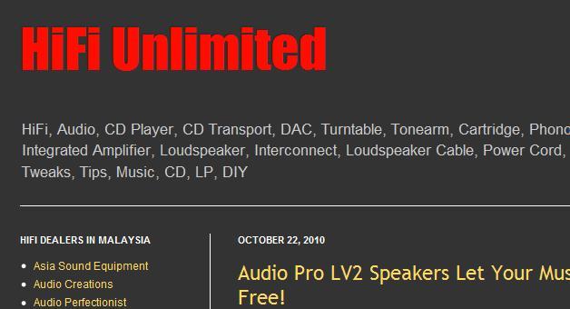 audio website