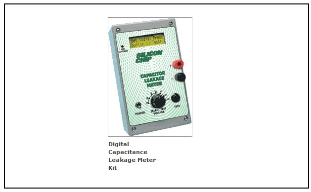 digital capacitance leakage meter