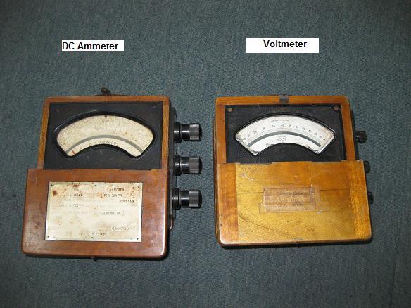 antique meters