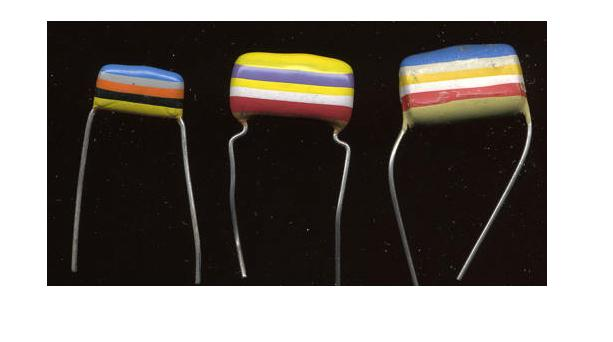 capacitor color code