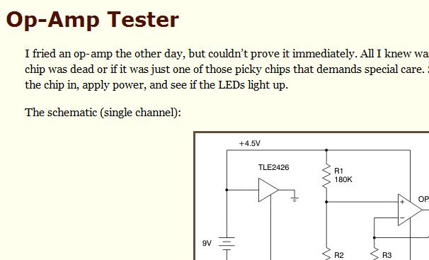 Building Your Own Op-Amp Tester | Electronics Repair And