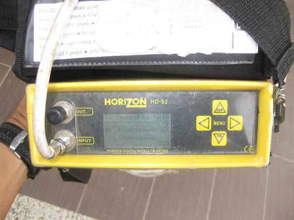 horizon digital satellite meter