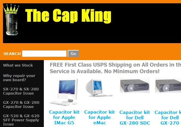 the cap king